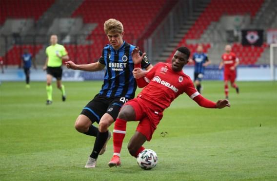 Status quo in Champions' play-offs: ook Antwerp en Club Brugge houden elkaar in evenwicht