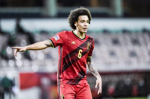 Roberto Martinez neemt Axel Witsel op in EK-selectie Rode Duivels