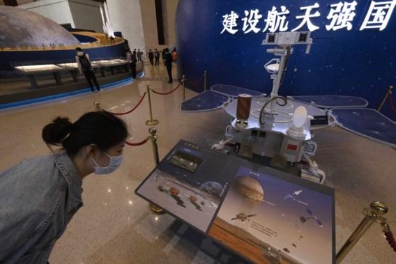 Chinese robotjeep op Mars geland