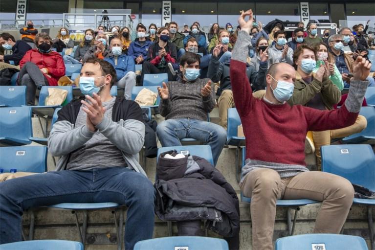 Geen personen besmet op testevenement in Gentse Ghelamco Arena