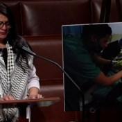 Amerikaans-Palestijns congreslid in tranen over conflict in Israël: 'Ik ben nog meer gebroken'
