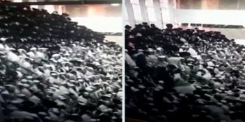 Overvolle tribune stort in tijdens religieuze viering in Israël, meer dan 160 gewonden