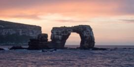 Beroemde rotsformatie Galápagoseilanden ingestort