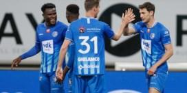 AA Gent wint met 2-0 van Standard en komt opnieuw naast KV Mechelen op kop in de Europe play-offs.