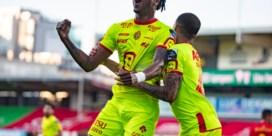 KV Mechelen komt op één punt van Europa