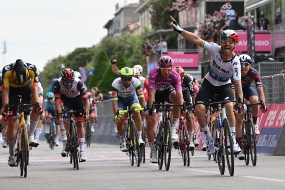 Nizzolo de snelste in Giro na elf keer tweede te zijn geweest