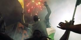 Luchtaanvallen maken plaats voor vuurwerk in Palestijnse gebieden