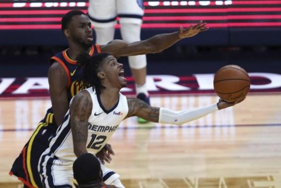 Memphis houdt Golden State uit play-offs NBA