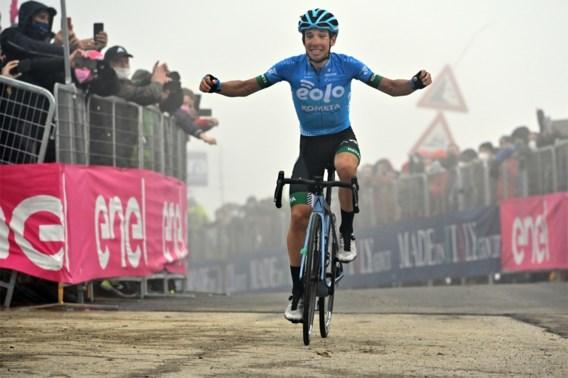 Remco Evenepoel lost op steile stroken van de Monte Zoncolan, Giro-ritzege voor Lorenzo Fortunato