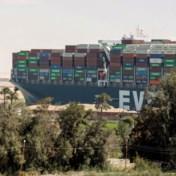 Ever Given nog steeds tegengehouden na blokkage Suezkanaal
