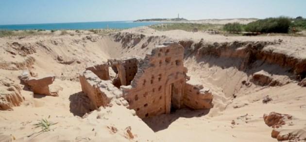 Tweeduizend jaar oude Romeinse thermen ontdekt op Spaans strand