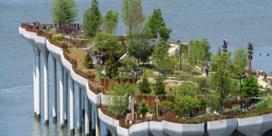 New York opent nieuw park op het water