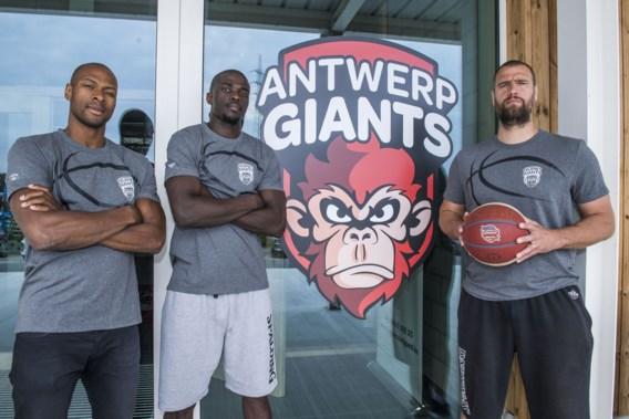 Coach Beghin en assistent Oveneke blijven bij Telenet Giants Antwerp