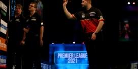 Dimitri Van den Bergh gaat ten onder in cruciale wedstrijd in Premier League darts