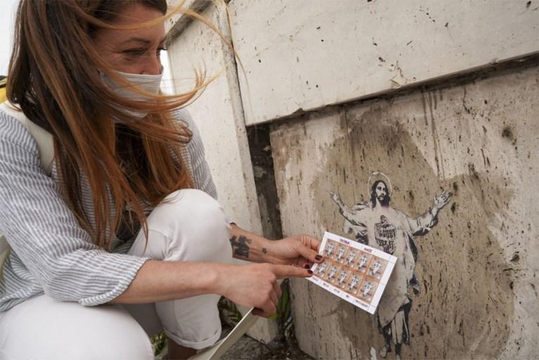Streetartkunstenares beschuldigt Vaticaan van plagiaat