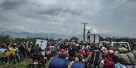 Chaos in Goma: tienduizenden op de vlucht voor nieuwe dreiging vulkaan