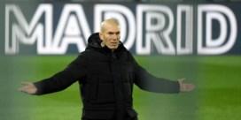 Zidane weg bij Real Madrid