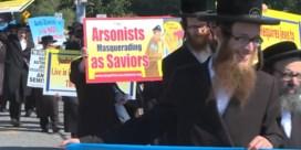 Orthodoxe joden in NYC protesteren tegen Israël