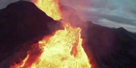 Drone smelt opnieuw weg boven IJslandse vulkaan