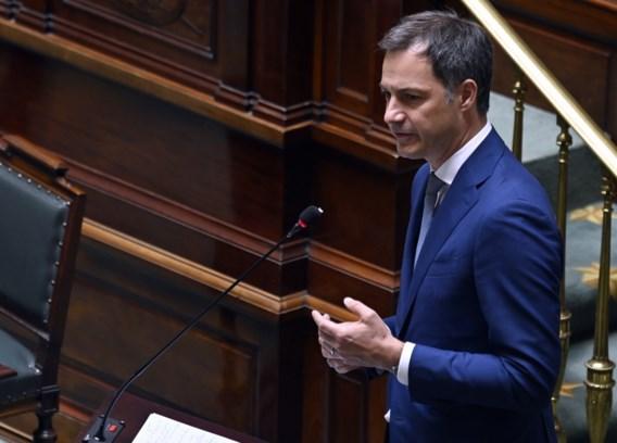 De Croo terug naar Kamer om uitleg te geven na discussie over regeringscommissaris: 'Geen discrepantie binnen regering'