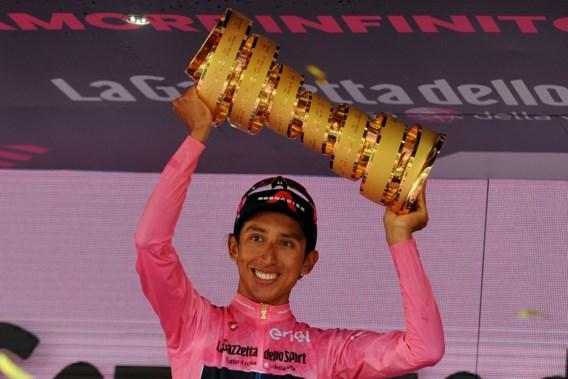 Egan Bernal test enkele dagen na eindzege in de Giro positief op corona