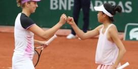 Elise Mertens en Su-Wei Hsieh dubbelen verder op Roland Garros