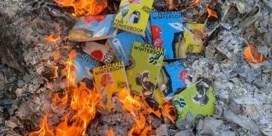 Jeanette Winterson verbrandt eigen boeken
