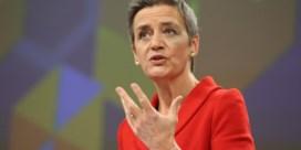 Europa moedigt Vestager aan in strijd met Big Tech