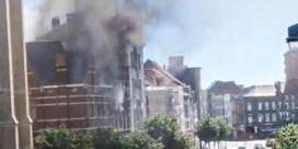 Werkmannen redden bewoners uit brand op Antwerpse Paardenmarkt