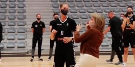 Koningin Mathilde pakt uit met basketbalkunsten bij Belgian Cats