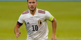 Eden Hazard zet basisplaats uit zijn hoofd