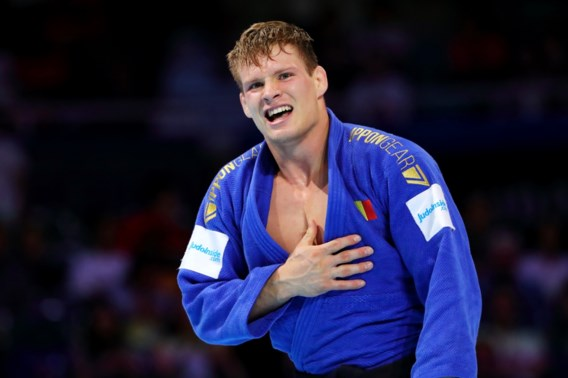 Matthias Casse verovert goud op WK in de klasse tot 81kg