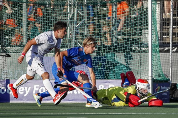 Geen EK-finale voor Red Lions, Nederland wint na shoot-outs