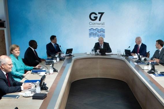 G7 wil invloed China beperken met infrastructuurplan voor ontwikkelingslanden