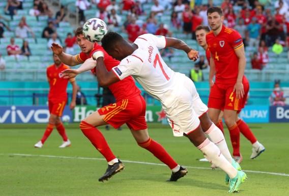 Zwitserland ziet winning goal afgekeurd door VAR en blijft steken op gelijkspel tegen Wales