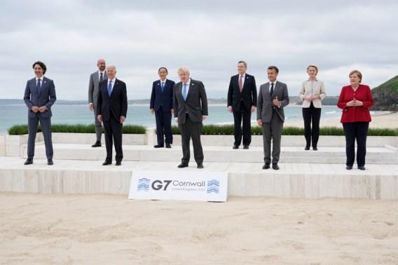 G7 hamert op mensenrechten in China en belooft miljard vaccins voor arme landen