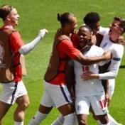 Engeland wint voor het eerst een openingsmatch op een EK