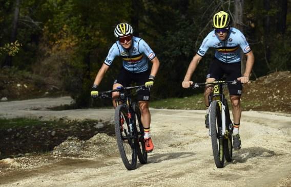 Olympische deelname mountainbikester Githa Michiels op de helling na valpartij