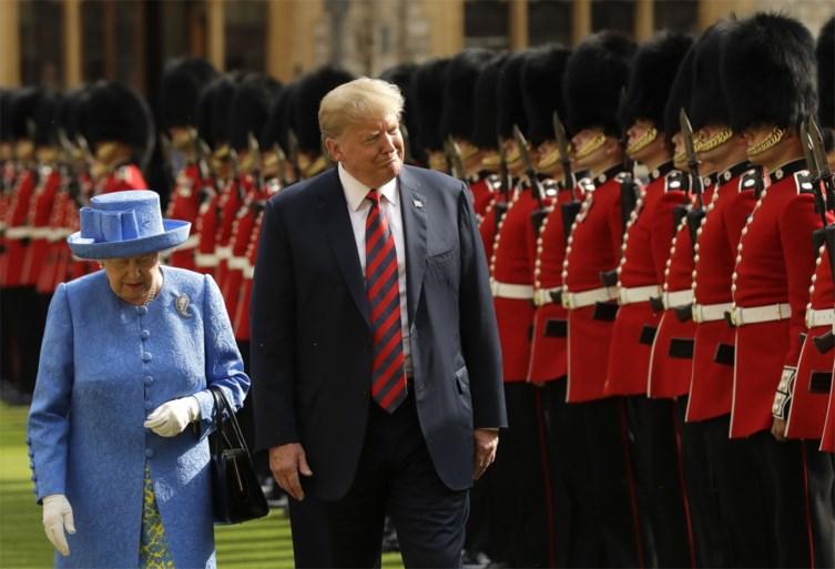 Britse Queen ontmoette 13 Amerikaanse presidenten