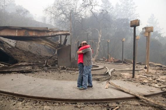 Grootschalige evacuaties door branden in Californië