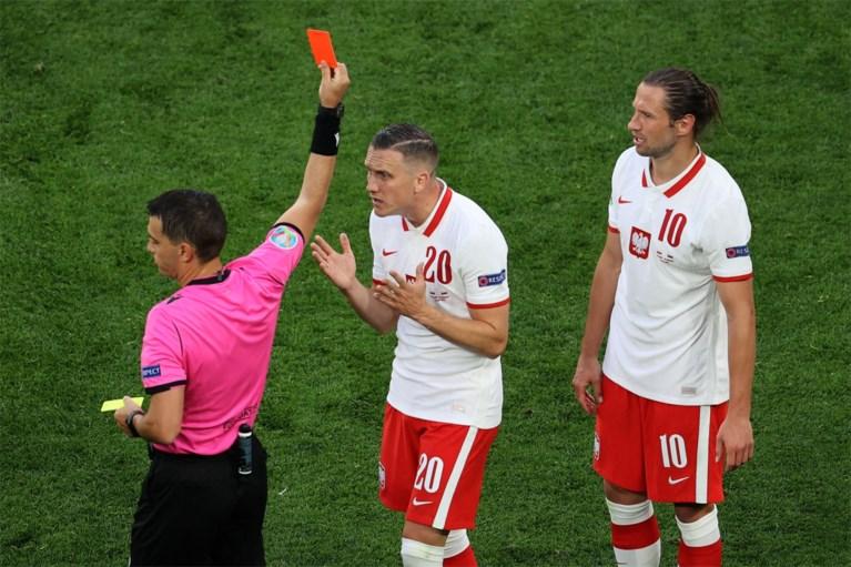 Slovakije stunt tegen een tienkoppig Polen, Lewandowski komt amper in stuk voor
