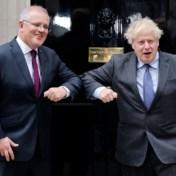 'Vrijhandelsdeal tussen Australië en Groot-Brittannië beklonken'