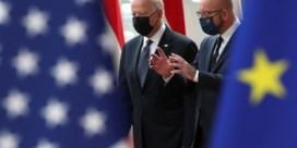 EU en VS vernieuwen huwelijksbeloften, met grote strik rond