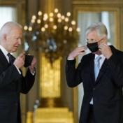 President Biden ontvangen op koninklijk paleis