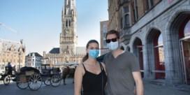Gedaan met mondmaskerplicht in openlucht in Brugge: 'Coronacijfers gaan goede kant uit'