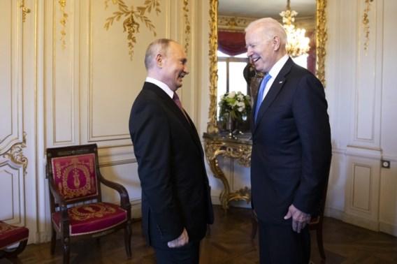 Top Biden-Poetin was preken voor eigen parochie
