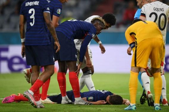 Pavard even knock-out tegen Duitsland: volgens spelersvakbond moest een wissel volgen