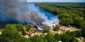 Brand in Nederlands safaripark Beekse Bergen, hoofdgebouw uitgebrand