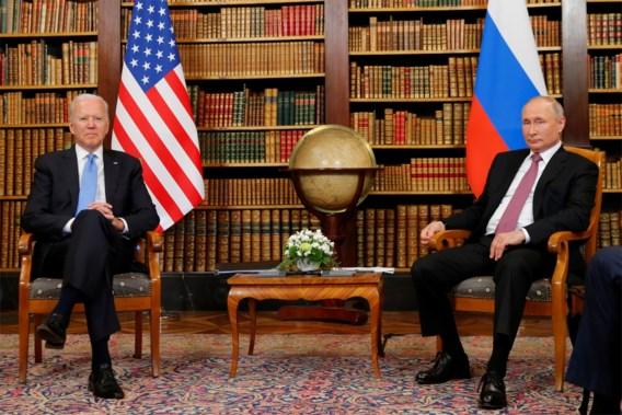 Biden: 'Poetin wil geen nieuwe Koude Oorlog'