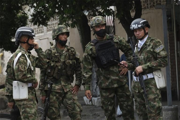 Minstens 36 gewonden bij explosie bomauto op militaire basis in Colombia